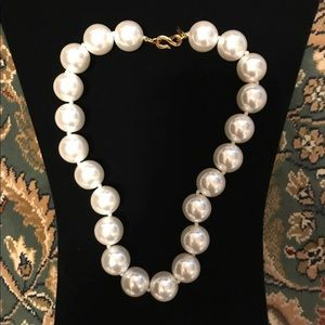 Kenneth Lane Couture Collection Pearl Necklace